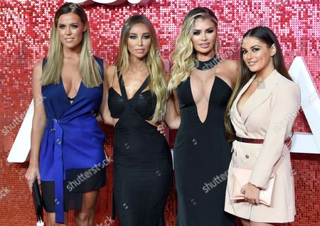 Stock Picture of Chloe Meadows, Lauren Pope, Chloe Simms and Courtney Green