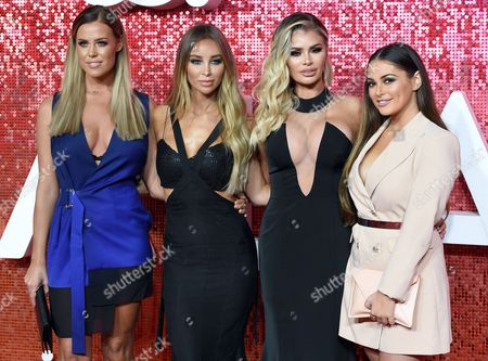 Chloe Meadows, Lauren Pope, Chloe Simms and Courtney Green