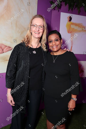 Anne Geddes and Stacey D. Stewart, President of the March of Dimes Foundation