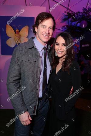 Rob Huebel and Holly Hannula