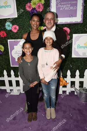 Kearran Giovanni, Philip Ambrosino and their two children