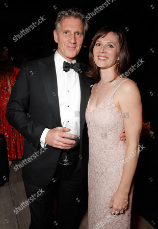Christopher Stanley and Kim Stanley seen at the AMC/IFC Emmy After Party, in West Hollywood, Calif