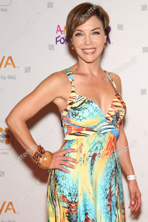 Laura Flores arrives at the Voya Miami Celebrity Domino Night Presented by Bacardi USA benefiting Amigos For Kids on Saturday, June, 14, 2014 at Jungle Island in Miami, Fl