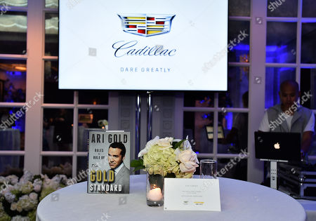 """Cadillac and Doug Ellinâ?""""creator, director and producer of â?œEntourageâ??â?"""" unveil the short film detailing â?œEntourageâ?? character Ari Goldâ?™s journey out of retirement and back to Hollywood at Spago in Beverly Hills, Calif. on . See the film at www.AriGoldisBack.com"""