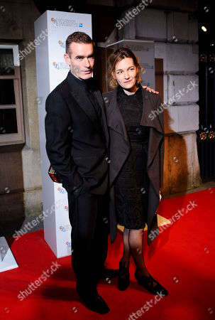 Actor Rufus Norris & Tanya Ronder arrives at the BFI London Film Festival Awards held at Banqueting House on in London, UK
