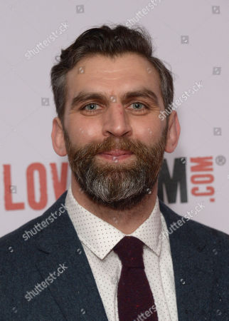 """James Griffiths attends the """"Cuban Fury"""" - World Premiere - Inside Arrivals at Vue Cinema in London on Thur, Feb 6th, 2014"""