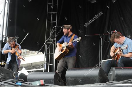 Hayes Carll performing at the Shaky Knees Music Festival, in Atlanta