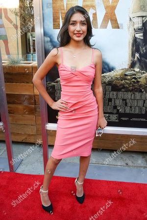 """Mia Xitlali arrives at the LA Premiere of """"Max"""" at the Egyptian Theatre, in Los Angeles"""