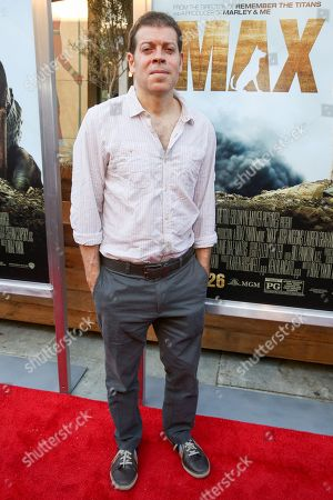 "Boaz Yakin arrives at the LA Premiere of ""Max"" at the Egyptian Theatre, in Los Angeles"