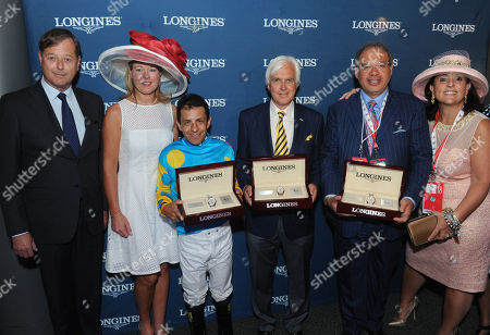 Editorial image of Longines at the 141st Kentucky Derby, Louisville, USA - 2 May 2015