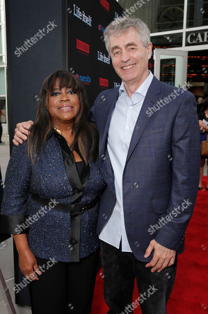 """Chaz Ebert and Steve James attend Magnolia Pictures' Los Angeles Premiere of """"Life Itself"""" at the ArcLight Hollywood on in Hollywood, California"""