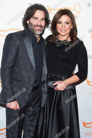 "Rachael Ray and John Cusimano attend The Michael J. Fox Foundation for Parkinson's Research benefit, ""A Funny Thing Happened on the Way to Cure Parkinson's,"" at the Waldorf Astoria, in New York"