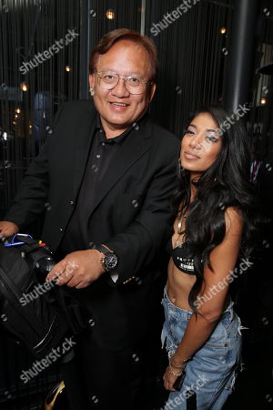 Noel Lee, CEO of Monster Inc. and Mila J at the Motown Celebrates The BET Awards dinner at STK, in Los Angeles, CA