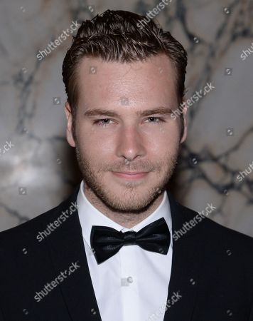 """Actor Anthony Ingruber attends the premiere party for """"The Age of Adaline"""" at the Metropolitan Club, in New York"""