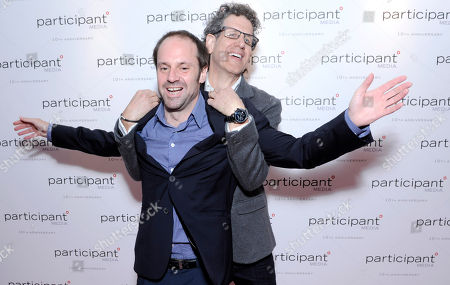Jeff Skoll and Jim Berk seen at the Participant Media 10th Anniversary Celebration and El Ardor party at Cannes at the 67th international film festival, Cannes, southern France