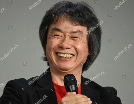 Editorial image of Shigeru Miyamoto Appearance at Apple SoHo Store, New York, USA - 8 Dec 2016