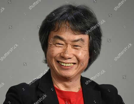 Editorial picture of Shigeru Miyamoto Appearance at Apple SoHo Store, New York, USA - 8 Dec 2016