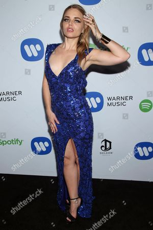 Editorial picture of The 57th Annual Grammy Awards Warner Music Group Grammy Celebration, West Hollywood, USA - 8 Feb 2015