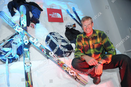 Legendary climber and The North Face global athlete team captain Conrad Anker attends the official reveal of the U.S. Freeskiing Competition Uniforms, designed and manufactured by The North Face, in New York