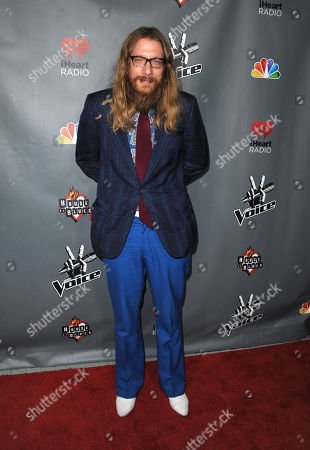 """Stock Picture of Nicholas David attends a red carpet event for """"The Voice"""" Season 3 in Los Angeles on"""