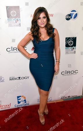 Mimi Gianopulos poses at the Third Annual All Star Mixology Competition at SKYBAR at Mondrian, in West Hollywood, Calif