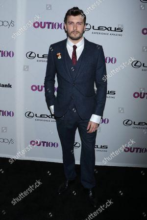 Editorial photo of OUT 100 Awards, Arrivals, New York, USA - 09 Nov 2017