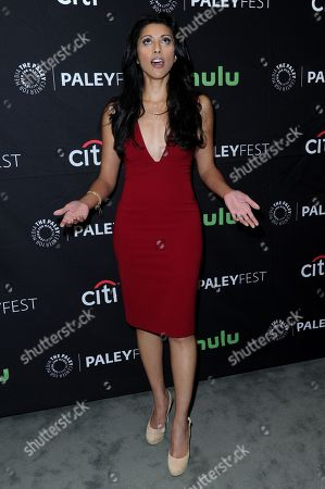 """Reshma Shetty attends the """"Pure Genuis"""" screening and panel discussion at the 2016 PaleyFest Fall TV Previews, in Beverly Hills, Calif"""