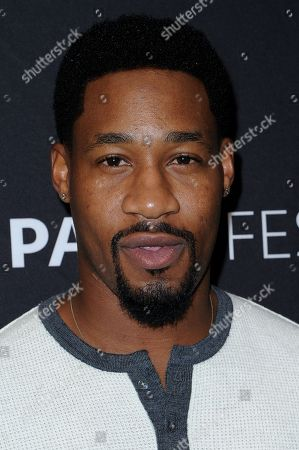 """Stock Photo of Aaron Jennings attends the """"Pure Genius"""" screening and panel discussion at the 2016 PaleyFest Fall TV Previews, in Beverly Hills, Calif"""