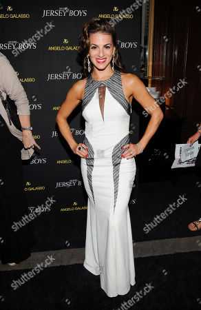 "Renee Marino attends a cocktail reception for a special screening of the film ""Jersey Boys"" in the Angelo Galasso boutique inside The Plaza on in New York"