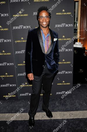 "Billy Porter attends a cocktail reception for a special screening of the new film ""Jersey Boys"" in the Angelo Galasso boutique inside The Plaza on in New York"
