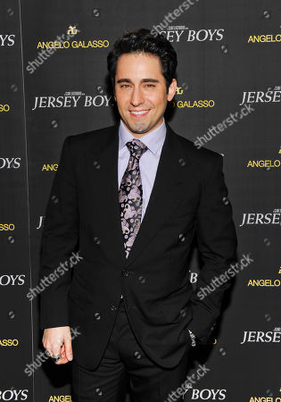 "Actor John Lloyd Young attends a cocktail reception for a special screening of the film ""Jersey Boys"" in the Angelo Galasso boutique inside The Plaza on in New York"