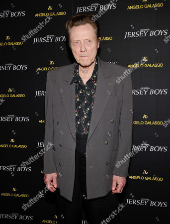 "Actor Christopher Walken attends a cocktail reception for a special screening of his new film ""Jersey Boys"" in the Angelo Galasso boutique inside The Plaza on in New York"