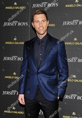 "Stock Picture of Actor Michael Lomenda attends a cocktail reception for a special screening of the film ""Jersey Boys"" in the Angelo Galasso boutique inside The Plaza on in New York"