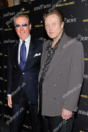 "Editorial photo of Angelo Galasso Cocktail Reception for ""Jersey Boys"" Special Screening, New York, USA - 9 Jun 2014"