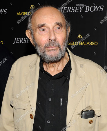"Director Stanley Donen attends a cocktail reception for a special screening of his new film ""Jersey Boys"" in the Angelo Galasso boutique inside The Plaza on in New York"