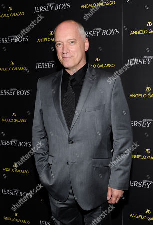"Donnie Kehr attends a cocktail reception for a special screening of the new film ""Jersey Boys"" in the Angelo Galasso boutique inside The Plaza on in New York"