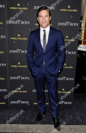 "Mike Doyle attends a cocktail reception for a special screening of the new film ""Jersey Boys"" in the Angelo Galasso boutique inside The Plaza on in New York"