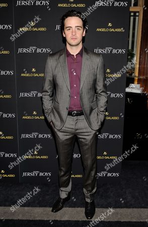 "Actor Vincent Piazza attends a cocktail reception for a special screening of the new film ""Jersey Boys"" in the Angelo Galasso boutique inside The Plaza on in New York"