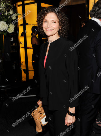 "Mary Elizabeth Mastrantonio attends a cocktail reception for a special screening of the new film ""Jersey Boys"" in the Angelo Galasso boutique inside The Plaza on in New York"