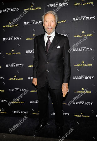 "Director Clint Eastwood attends a cocktail reception for a special screening of his new film ""Jersey Boys"" in the Angelo Galasso boutique inside The Plaza on in New York"