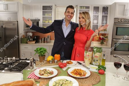 Giuliana and Bill Rancic encourage Americans to Mangia during National Pasta Month in partnership with Bertolli Frozen Meals, in Chicago
