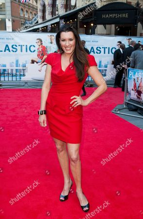 Kate Magowan arrives for the UK film premiere of Plastic at Central London cinema, London