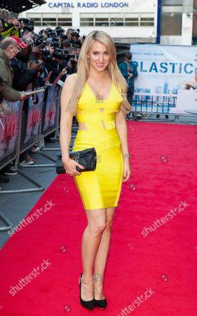 Editorial picture of Britain Plastic Premiere Arrivals, London, United Kingdom - 29 Apr 2014