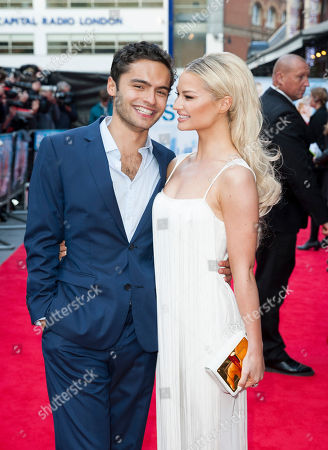 Sebastian De Souza and Emma Rigby arrive for the UK film premiere of Plastic at Central London cinema, London