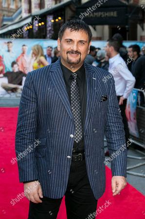 Mem Ferda arrives for the UK film premiere of Plastic at Central London cinema, London