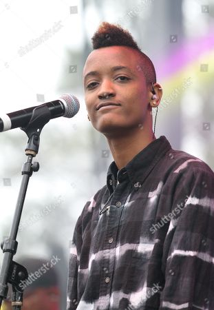 Singer Syd tha Kyd from the group The Internet performs at Broccoli City Festival 2016, in Washington
