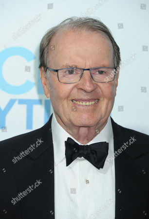Charles Osgood arrives at the Daytime Emmy Awards Afterparty at The Beverly Hilton, in Beverly Hills, Calif