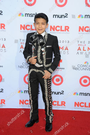 Sebastien De La Cruz arrives at the 2013 NCLR ALMA Awards at Pasadena Civic Auditorium in Pasadena, CA on