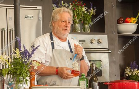 Chef Jonathan Waxman at the What a Catch session, during the Chicago Food + Wine Festival, in Chicago