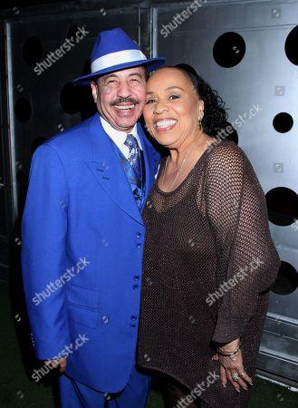 Judge Craig Strong and actress Roz Ryan at Rockmond Dunbar's Directorial Debut Screening of Pastor Brown at Xen Lounge, in Studio City, California